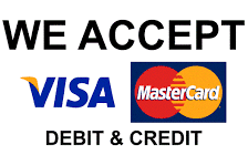 The Carpet Cleaning Pro accept payments by credit and debit card